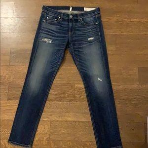 rag & bone Dre skinny boyfriend jeans size 28